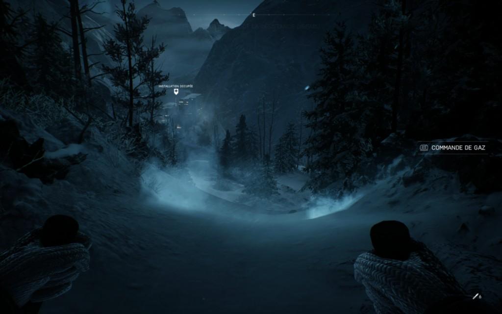 Ne pas oublier, pour tourner, on lève le ski amont !