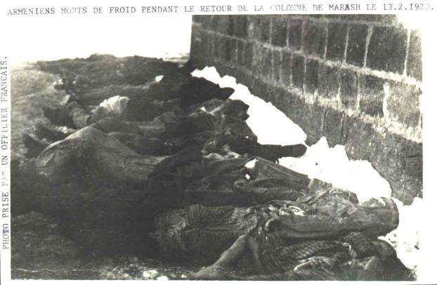Arméniens morts de froid